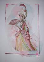 Little Marie Antoinette by Sucre-de-Kana