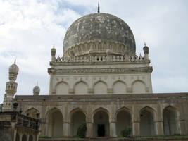 Hyderabad Qutb-Shahi Tombs 1 by shadowcat45