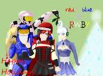 RWBY X RvB: Happy Holidays! by Tkdboy2000