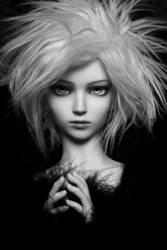 glam blonde by gataevka