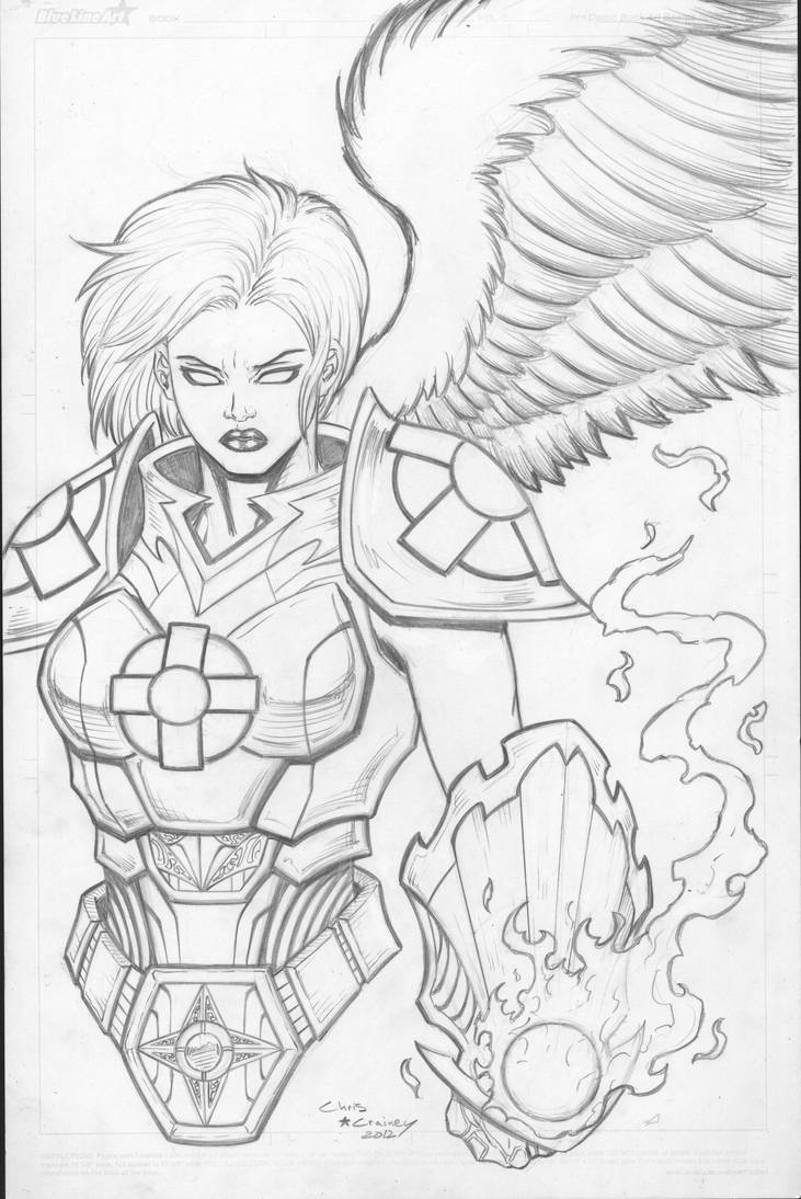 Iyanna Sketch by c-crain