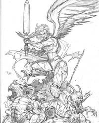 War Ready Iyanna doodle by c-crain
