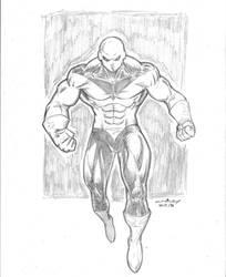 Jiren sketch by c-crain