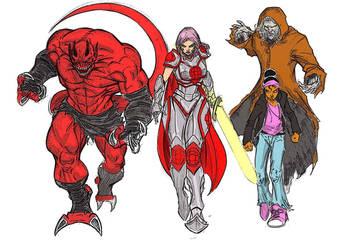 Destroy All DemonsDestr colors by c-crain