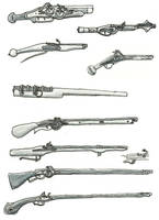 firearms collection by Kluwe