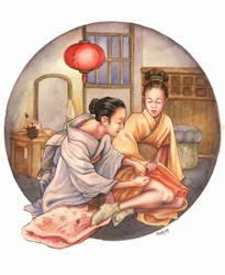 Memorie di una geisha by Martidy