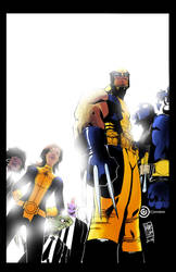 Wolverine and the X-men #1 - recolour by MARC0F