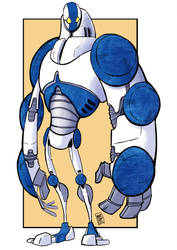 Robot 006 Rebuild by MARC0F