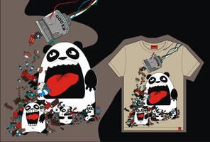 Pandas e doces by kouchan00