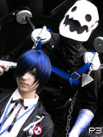 Minato and Thanatos Persona 3 by alas-etereas