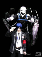 Minato and Thanatos -Persona 3 by alas-etereas