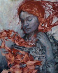 Wencka, oil on canvas, 80 x 100, Agnieszka Wencka by Wencka
