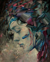 Reminiscence, Agnieszka Wencka, oil , 80x 100 by Wencka