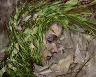 Jade, oil on canvas, 80 x 100, Agnieszka Wencka by Wencka