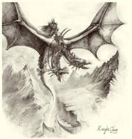 Evil dragon by KnightChan