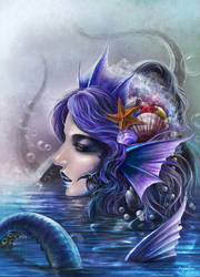 Water Flower by KnightChan