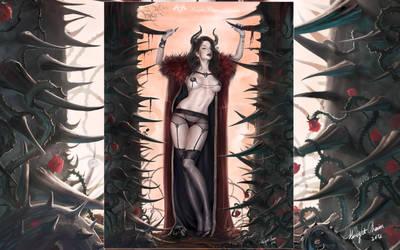 Thorn Queen by KnightChan