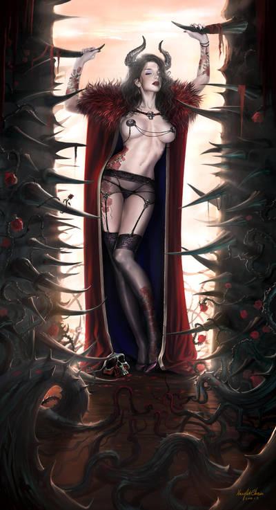 Rose by KnightChan