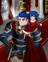 Hector and Lilina by Sturmfrost