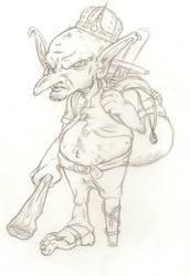 Mean Freakin' Knob Goblin by ArsenicForBreakfast