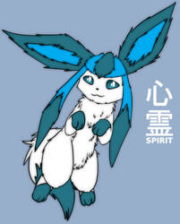 Spirit the Glaceon by Maverik-Soldier