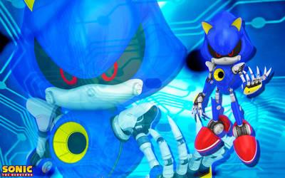 Metal Sonic Wallpaper by SonicTheHedgehogBG