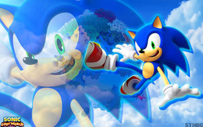 Sonic Lost World Wallpaper - Sonic by SonicTheHedgehogBG