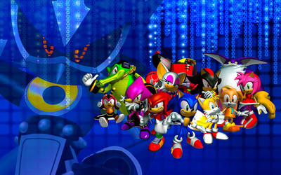 Sonic Heroes Wallpaper by SonicTheHedgehogBG