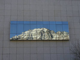 Mt. Timp in Glass by tadamson