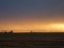 Sunset in Idaho by tadamson