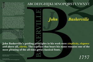 Baskerville Poster by tadamson