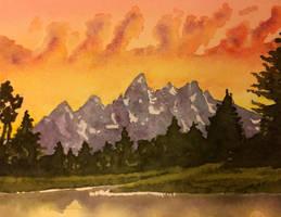 Grand Tetons by tadamson