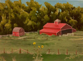 Red Barn by tadamson