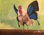 Chicken with Butterfly Wings by tadamson