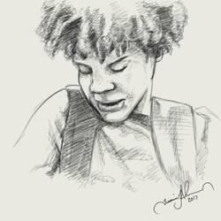 Boy Sketch by tadamson