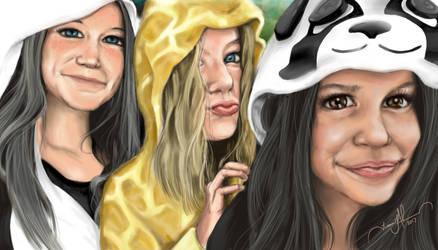 3 Girls by tadamson