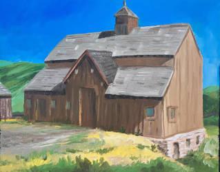 Tate's Barn by tadamson