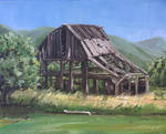 Rickety Barn by tadamson