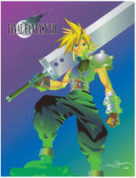 Cloud from Final Fantasy 7 by tadamson