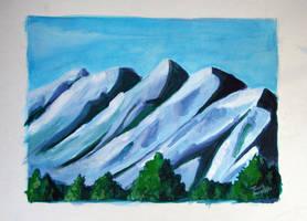 Mountains01 by tadamson