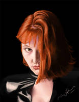 Girl With Red Hair by tadamson