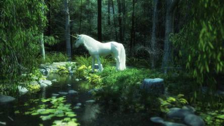 Unicorn by scifigiant