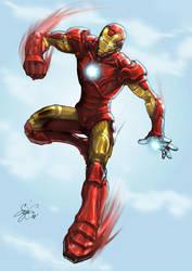 Iron Man by kamillyonsiya