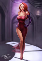 Jessica Rabbit by kamillyonsiya