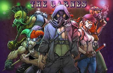 The Carnes by kamillyonsiya