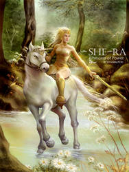 SHE-RA Princess of Power by kamillyonsiya
