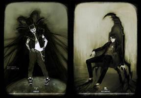 Aries + Scorpio by Heylenne