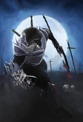 Warrior Wolf by Jc-styless
