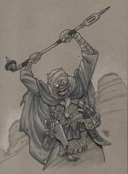 Tuskin Raider by Steevcomix