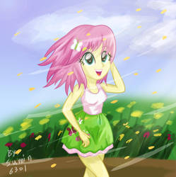 FlutterShy - Spring, by sumin6301